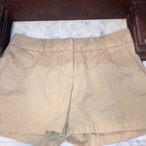 J. Crew Khaki Shorts